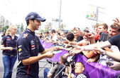 Formula 1 driver Daniel Ricciardo of Red Bull Racing Team — Стоковое фото