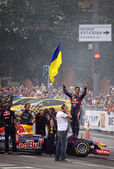 Driver Daniel Ricciardo of Red Bull Racing Team — Stock Photo