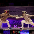 ������, ������: Womens Sabre match of World Fencing Championships