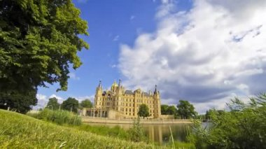Schwerin Castle, Germany — Stock Video