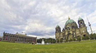 Berlin Cathedral (Berliner Dom), Germany — Stock Video