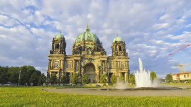 Berlin Cathedral (Berliner Dom), Germany — 图库视频影像