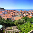 Panoramic view of Piran old town, Slovenia — Stock Photo #50093719