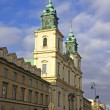 Church of the Holy Cross in Warsaw, Poland — Stock Photo #8974067