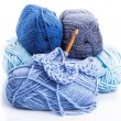 Crocheting isolated — Stock Photo