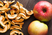 Dried apples — Stock Photo
