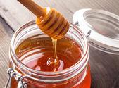 Honey drip — Stock Photo