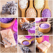 Lavender treatment — Stock Photo