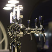 Beer taps — Stock fotografie