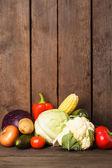 Still life of vegetables — Stock Photo