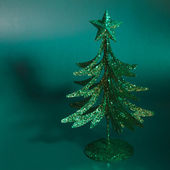 Decorative fir tree — Stock Photo