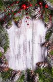 Christmas frame design — Stock Photo