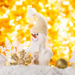 Snow and bokeh — Stockfoto #17194303