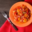 Stewed vegetables — Stock Photo #17196429