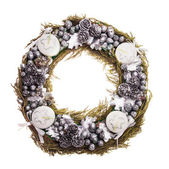 Christmas Advent wreath — Stock Photo