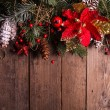Christmas border design — Stock Photo