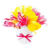 Bouquet from tulips — Stock Photo