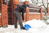 Snow removal — Stock Photo