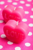 Love candles — Foto de Stock