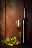 Beyaz şarap — Stok fotoğraf