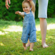 First steps  — Stock Photo