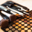 Stock Photo: Eye shadow palette