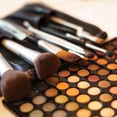 Eye shadow palette — Stock Photo