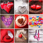 Various hearts — Stock Photo