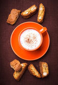 Cantuccini-cookies — Stockfoto