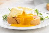 Eggs benedict — Stock Photo