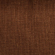 Brown linen texture — Stock Photo