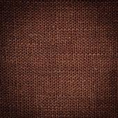 褐色亚麻纹理 — 图库照片