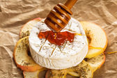 Baked camembert — Stockfoto