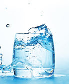Glass with water — Stock Photo