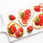 Summer breakfast — Stock Photo