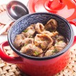 Chicken gizzards — Stock Photo