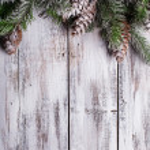 Shabby Christmas border — Stock Photo #30872237