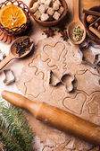 Christmas cooking — Stock Photo
