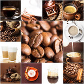 Coffee and beans — Stock Photo