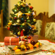 Little Christmas tree — Stock Photo