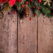 Christmas border design — Stock Photo #31854297