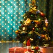 Stock Photo: Little Christmas tree