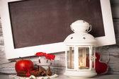 Cristmas lantern — Stock Photo