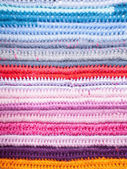 Crochet color background — Stock Photo