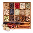 Spice set isolated — Stock Photo