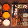Spice set — Stockfoto