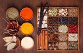 Krydda set — Stockfoto
