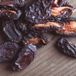 Dried plums — Stock Photo