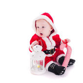 Santa boy — Stock Photo