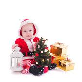 Santa boy — Stock Photo